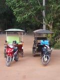 Tuk Tuk - популярный транспорт в Азии Стоковые Изображения RF