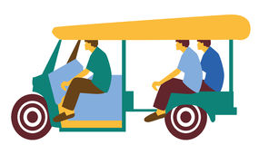 Tuk tuk. Passenger vechile tuk tuk carrying passengers Royalty Free Stock Images