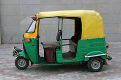 Tuk Tuk. (taxi) against a plain background Stock Image