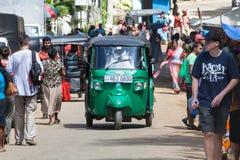 Tuk-tuk auto rickshaw. Bajay or Bajaj Stock Photography
