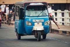 Tuk-tuk auto rickshaw. Bajay or Bajaj Stock Photo