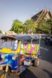 Tuk-Tuk: Bandkok Taxi_4 Royalty-vrije Stock Afbeelding