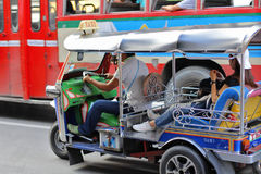 Tuk-Tuk in Bangkok 2 Stockbild