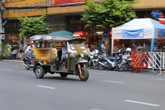 Tuk-Tuk in Bangkok 6 Stockfotos