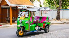 Tuk Tuk Bangkok Thailand Royalty-vrije Stock Afbeelding