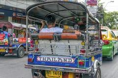 Tuk tuk Bangkok, Thailand Stock Afbeeldingen