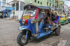 Tuk tuk Bangkok, Thailand Royalty-vrije Stock Afbeelding