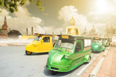 Tuk Tuk bil för turism Arkivbilder