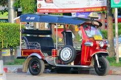 Tuk tuk, de driewieler van de Motor Stock Foto's
