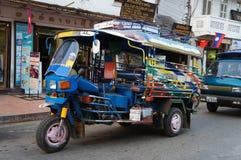 Tuk-tuk del taxi Imagen de archivo libre de regalías