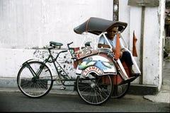Tuk-tuk driver Royalty Free Stock Image