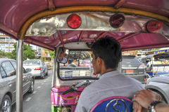 Tuk Tuk driver Royalty Free Stock Images