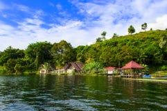 Tuk Tuk. Lago Toba. Fotos de Stock Royalty Free
