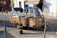 Tuk Tuk Lisbon Stock Photo
