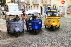 Tuk-tuk in Lisbon (Portugal) Stock Images