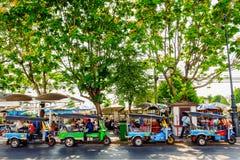 Tuk-Tuk i Bangkok Fotografering för Bildbyråer