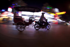 Tuk tuk at night Stock Photography
