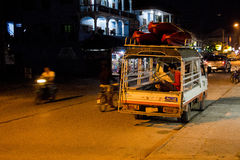Tuk Tuk Night Royalty Free Stock Photo