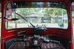 Tuk-tuk od inside Zdjęcie Stock