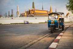 Tuk tuk for passenger cars. To go sightseeing in Bangkok. Royalty Free Stock Images