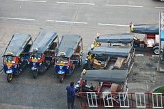 Tuk Tuk. Popular public car for toutist in Bangkok Stock Photos