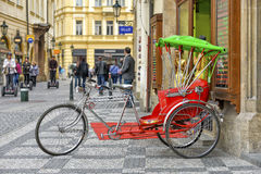 Tuk tuk in Prague Royalty Free Stock Image