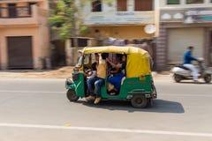 Tuk Tuk Rickshare w Agra Obrazy Royalty Free