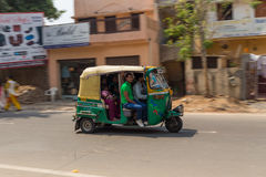 Tuk Tuk Rickshare w Agra Zdjęcia Royalty Free