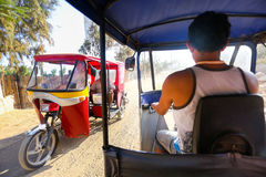 Tuk tuk ride Stock Photo