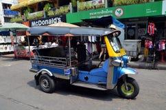 Tuk-tuk (Rikscha) in Bangkok Stockbilder