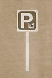 Tuk Tuk sign parking Stock Photography