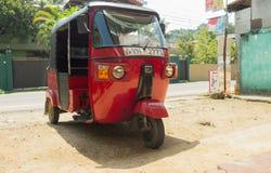 Tuk-Tuk Sri Lanka Fotos de Stock