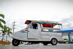 Tuk-Tuk is a symbol of Thailand stock images