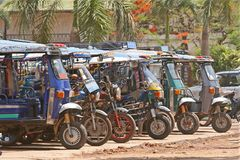 Tuk tuk taxi Royalty Free Stock Photos