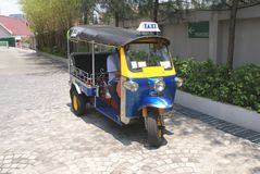 Tuk tuk. taxi. Stock Photography