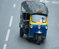 Tuk-tuk taxi in Bangkok Royalty Free Stock Images