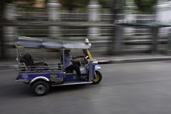 Tuk tuk or taxi in Bangkok Royalty Free Stock Image