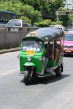 Tuk tuk taxi, Bangkok. Royalty Free Stock Photos