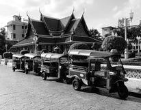 Tuk tuk taxi in Bangkok ,Thailand Royalty Free Stock Photo