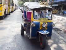 Tuk Tuk taxi in Bangkok Royalty Free Stock Photography