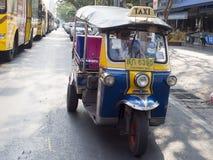 Tuk Tuk taxi i Bangkok Royaltyfri Fotografi