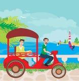 Tuk tuk taxi Stock Image