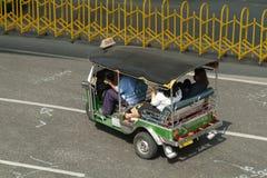 Tuk-tuk Taxi In Bangkok Royalty Free Stock Photo