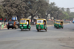 Tuk-tuk taxi in Kolkata Royalty Free Stock Photo