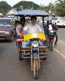 Tuk Tuk Taxi in Laos Royalty Free Stock Photos