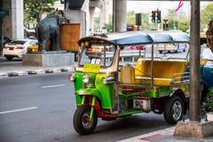 Tuk-Tuk taxi od Tajlandia tylko Obrazy Royalty Free