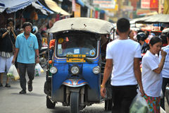 Tuk tuk taxi thailand Royalty Free Stock Photo