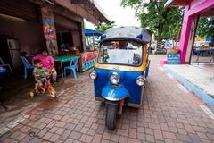 TUK TUK taxi Royalty Free Stock Photography