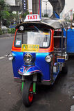 Tuk Tuk Taxi Transport in Bangkok, Thailand. Stock Photography