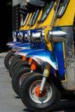 Tuk-tuk taxis in Bangkok Royalty Free Stock Photography